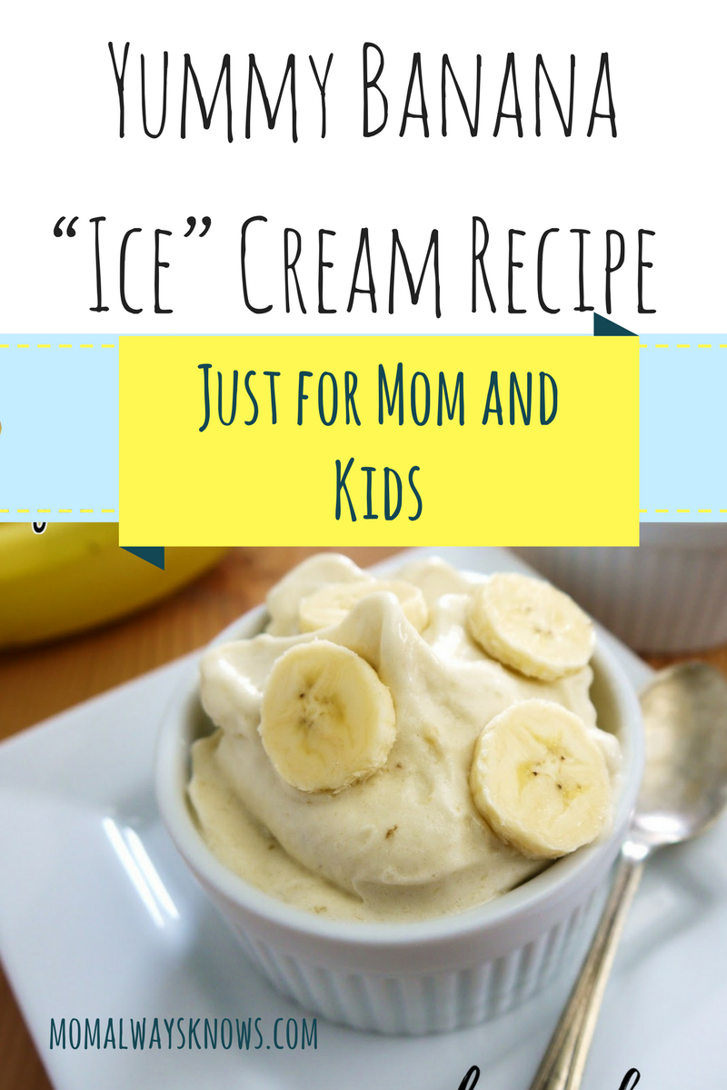 "Easy Yummy Banana ""Ice"" Cream Recipe Just for Moms and ... Almond Board"