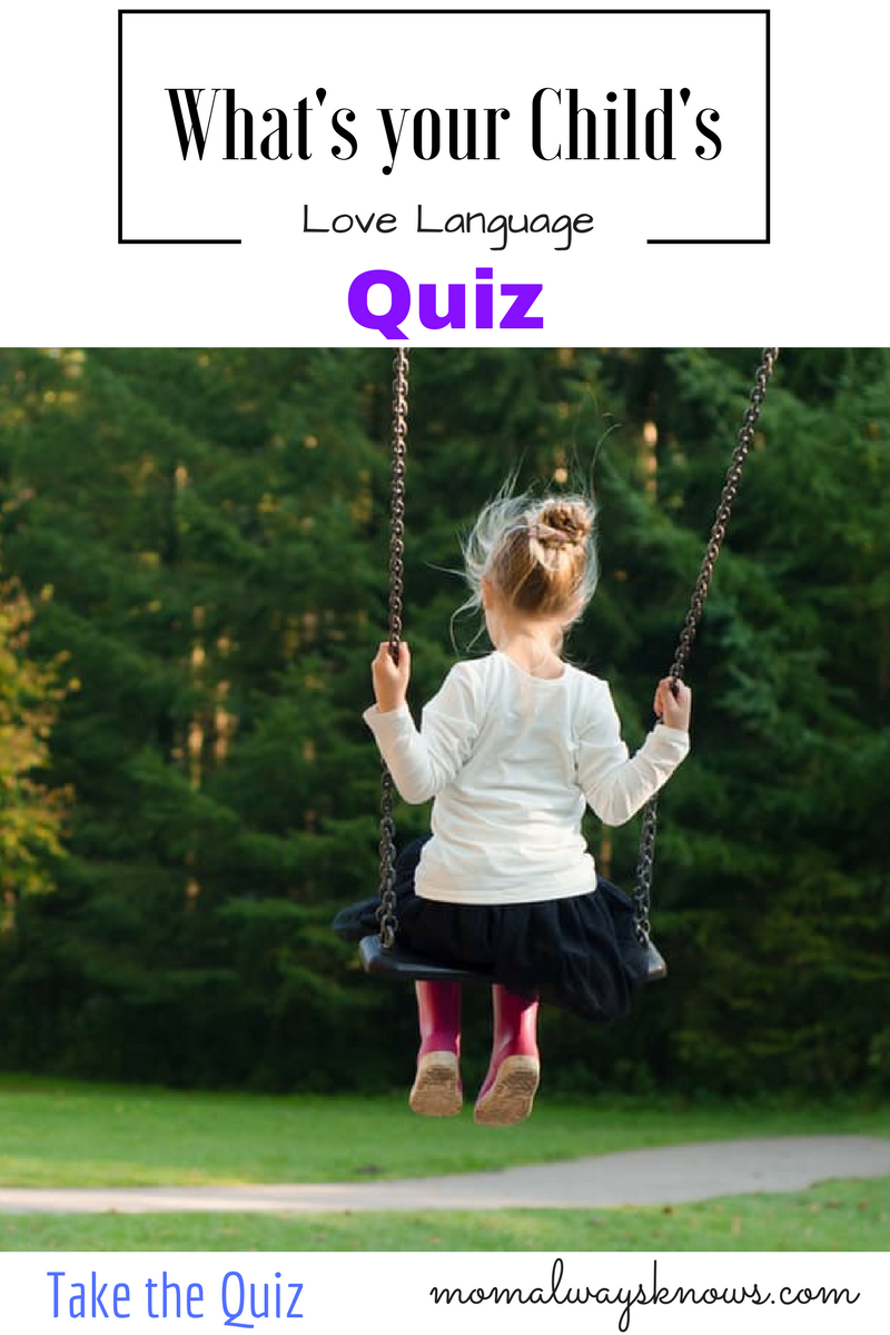 personality test for kids