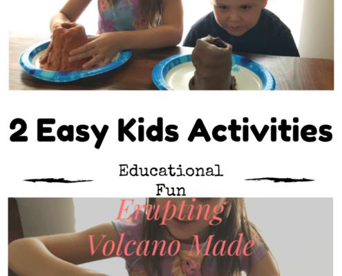 volcano kids craft easy mom always knows