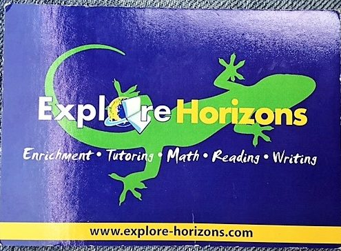 Explore Horizons Lizard card
