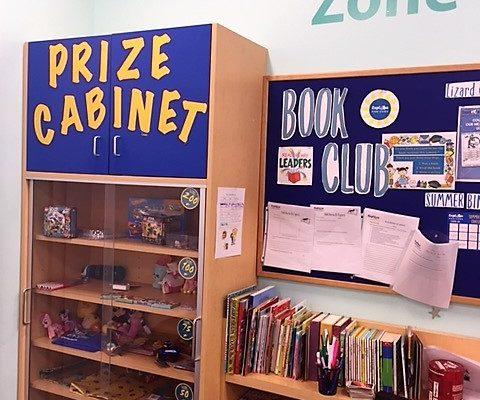 explore horizons prize cabinet