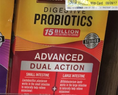 nature made advanced probiotics vitamins