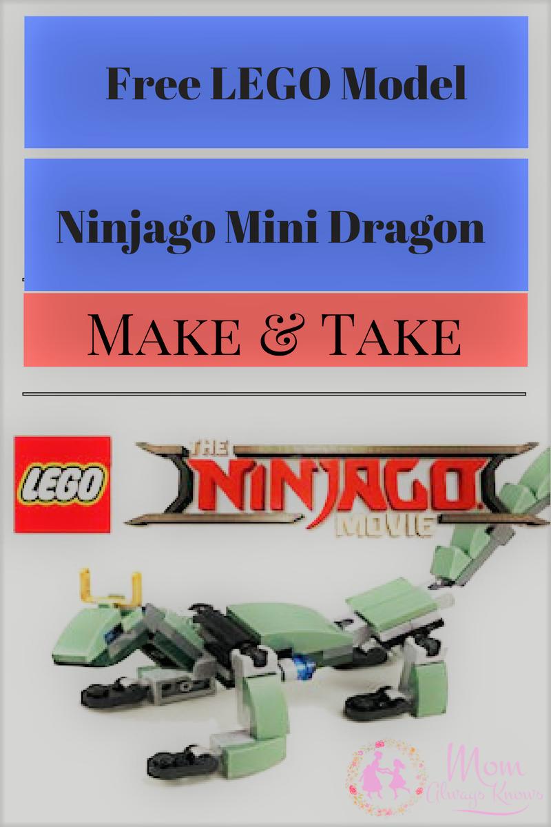 make and take lego event